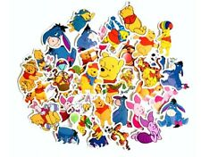 Winnie The Pooh Cartoon Lot of 40 Assorted Sticker Decals
