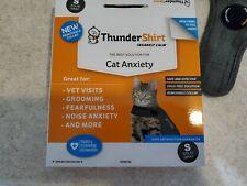 ThunderShirt Cat Anxiety -Small- Solid Gray (Used Gently w/Box) Thunderworks