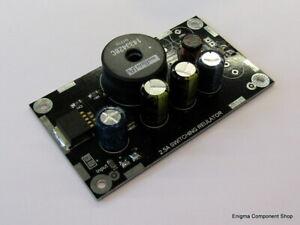 Low Noise, High Input Voltage 2.5A Regulator Module. Buck Converter. UK Seller.