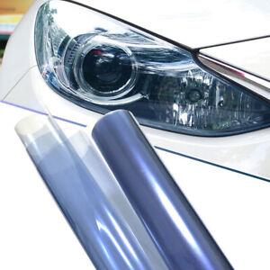"12""x48"" Sky Blue Car Vehicle Shade Taillight Headlight PVC Foil Vinyl Film Cover"