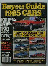 BUYER'S GUIDE 1985 Cars Mazda RX7 Pontiac Fiero Olds Calais Plymouth Caravelle