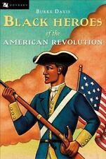 Black Heroes of the American Revolution (Odyssey Books) Davis, Burke Paperback