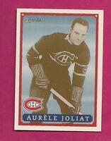 RARE 1992-93 OPC # 21 CANADIENS AURELE JOLIAT  FANFEST LIMITED /5000 CARD