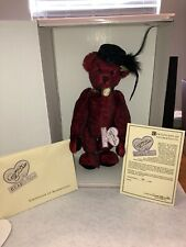 Annette Funicello (Miss Kitty) Collectible Mohair Bear - New In Box