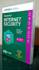 Kaspersky Internet Security Anti-virus 3 PCs 1 Year Retail, Valid 2017 2018
