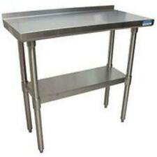 """Bk Resources Svtr-1836 36""""Wx18""""D All Stainless Steel Work Table"""