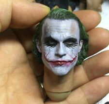 The Joker Heath Ledger 1/6 Kopf Head Sculpt Hot Toys Action Figur Dark Knight