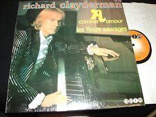 RICHARD CLAYDERMAN<>A COMME AMOUR<>Lp Vinyl~Canada  Press~ABLE ABL-17034