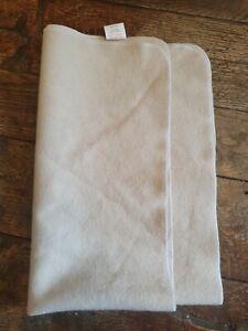 Woolen Potty Training waterproof blanket to protect chairs, pram, car seat etc.