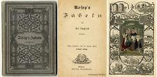 Aesop 's fables pour la jeunesse modifié. 7 panneaux vivacité de 1872.