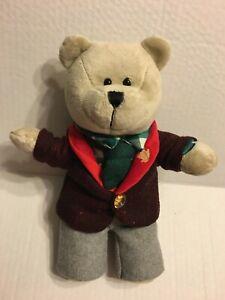 "Starbucks 2017 Bearista Bear 10"" Plush Stuffed Animal"