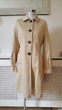 Next Stylish Beige Trench Coat Ladies jacket Size 12