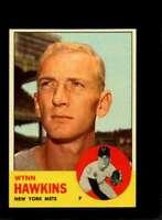 1963 TOPPS #334 WYNN HAWKINS NMMT METS  *XR19781
