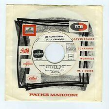 45 RPM SP PROMO TIRAGE LIMITE EDITH PIAF LES COMPAGNONS DE LA CHANSON