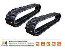 2pc Rubber Track 300x52.5x82 KOBELCO SK030-1 030-2 30 UR UR-1 UR-2 Z14 excavator