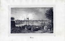 Bonn - Lithographie aus Borussia 1838