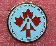 Pins ÉCUSSON Patch NASA CANADIAN ASTRONAUT PROGRAM Vintage Badge Lapel Pin