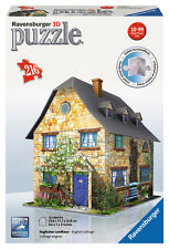 COUNTRY COTTAGE 216 PIECE 3D JIGSAW PUZZLE RAVENSBURGER