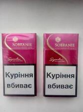 2 x Sobranie London Super SLIMS PINK  Cigarettes 2 x 20  (4)