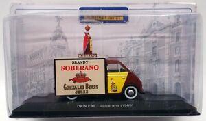 Atlas Edition 12cm Long Model Truck G1H2E011 - 1960 DKW F89 Soberano