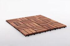 Teak Tile Spa/Pool/Bath/Shower/Deck 12 slats, 10 pcs per box Premium oiled