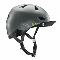Bern Brentwood satindarkgrey Flip Visor Fahrradhelm, Actionsport Helm 54-57cm