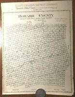 HUGE 1773 SC MAP Darlington Dillon County SOUTH CAROLINA HISTORY SURNAMES !!!!
