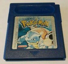 Nintendo Game Boy Pokemon Blue Brand new Battery! English Version
