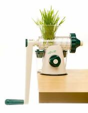 HEALTHY JUICER - COLD-PRESS MANUAL CELERY JUICER / WHEATGRASS / *ALL LEAFY GREEN