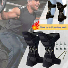 Power Lift Joint Support Knee Brace Pads Rebound Spring Force Running Knee Pads