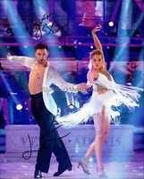 STRICTLY COME DANCING *LAURA WHITMORE & GIOVANNI PERNICE* HAND SIGNED 10X8 PHOTO