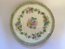 Rosemary Delphine China Green/Pink/Blue/Yellow Floral Tea Plate