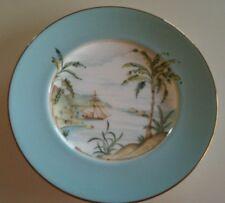 "Lenox British Colonial Tradewinds Ship design luncheon plate 9.5""- mint"