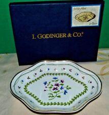 I. Godinger & Co Petite Fleur Holiday Candy Bonbon Dish New with box