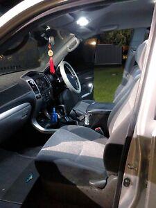 White Interior LED Light Kit for Toyota Landcruiser Prado 120 series - 13 Pieces