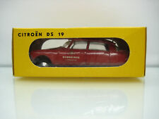 Diecast Metosul Citroen DS 19 Red Very Good Condition in box Rare/Selten