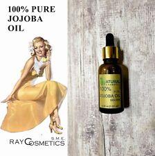 EU Grade, 100% Pure Natural Jojoba Oil, For Skin, Body, Hair Care 30 ml
