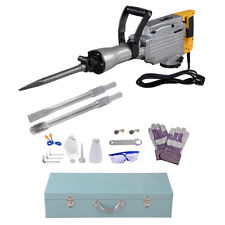 1700w Demolition Jack Hammer Electric Drill Concrete Breaker 3 Chisels INCD VAT