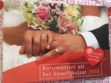 NEDERLAND 2010 HUWELIJKSET BU euromunten