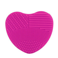 Hot Pink Silicone Egg Cleaning Glove Makeup Washing Brush Scrubber Tool Cleaners