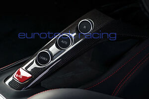 Ferrari 488 GTB / Spider Carbon Fiber Center Console Upper F1 Tunnel NEW!
