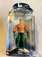 """DC Direct History of the DC Universe 7"""" Aquaman Action Figure New On Card Sealed"""