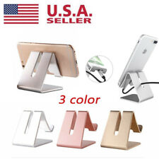 Universal Aluminum Desk Stand Holder Cradle For iPhone Samsung Cell Phone Tablet