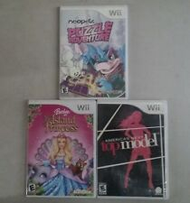 Barbie: Island Princess, America's Next Top Model and Neo Pets for Nintendo Wii