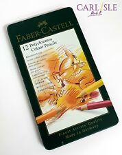 Faber-Castell - Polychromos Pencils - Tin Of 12