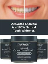 BEST Activated Charcoal Natural Teeth Whitening Tooth Whitener w Bentonite Clay