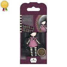 Gorjuss Rubber Mini Stamps *FAIRY LIGHTS* Little Girl, Card Making - 13