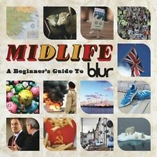 BLUR - MIDLIFE A BEGINNER'S GUIDE TO BLUR - 2009 PARLOPHONE 2xCD - BEST OF