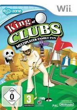 KING OF CLUBS MULTIPLAYER FAMILY FUN Nintendo WII PAL FR ++ 100% NEUF ++