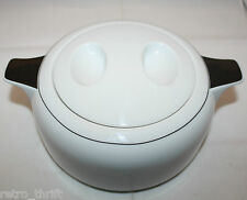 Schumann Arzberg White Small Soup Bowl Casserole Tureen with Lid Germany